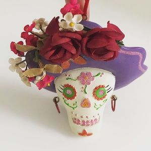 Other - Day of the Dead sugar skull ornament decoration